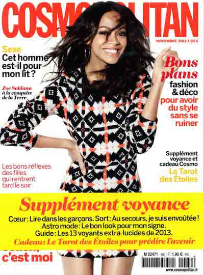Cosmopolitan Novembre 2013